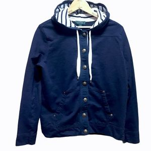 Lauren Jeans Co. Ralph Lauren navy anchor hoodie